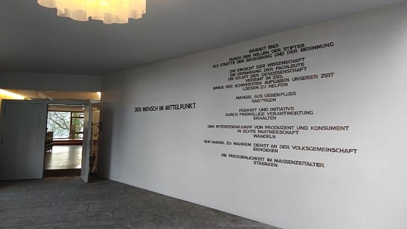 Eingang Gottlieber Institut, Rüschlikon