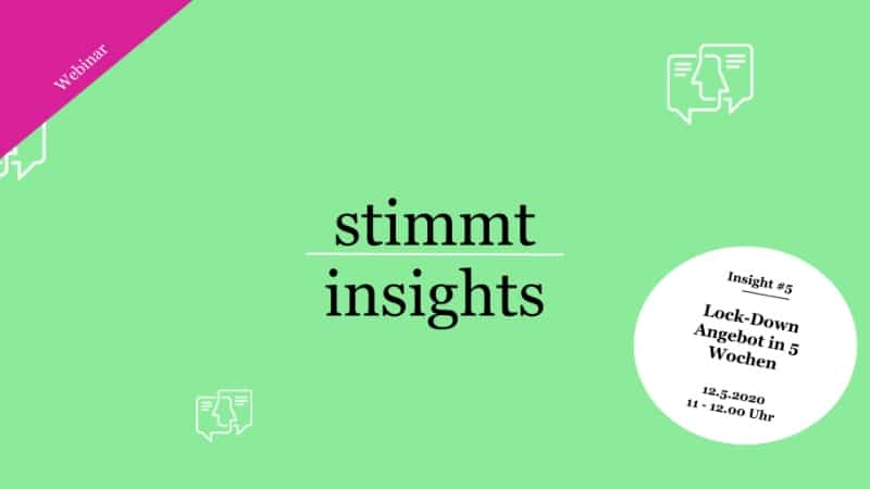 Stimmt Insights #5