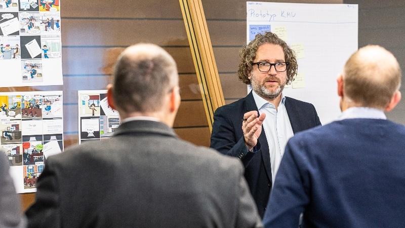 Bankwerker 2.0 Interview Sandro Meichtry & Glenn Oberholzer