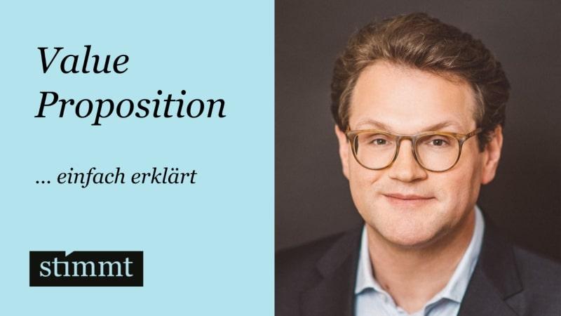 Value Proposition einfach erklärt