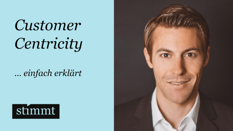 Customer Centricity einfach erklärt