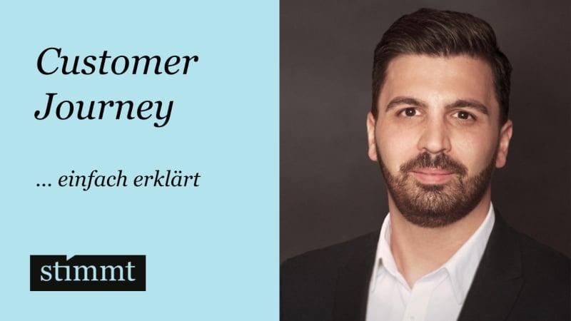 Customer Journey einfach erklärt